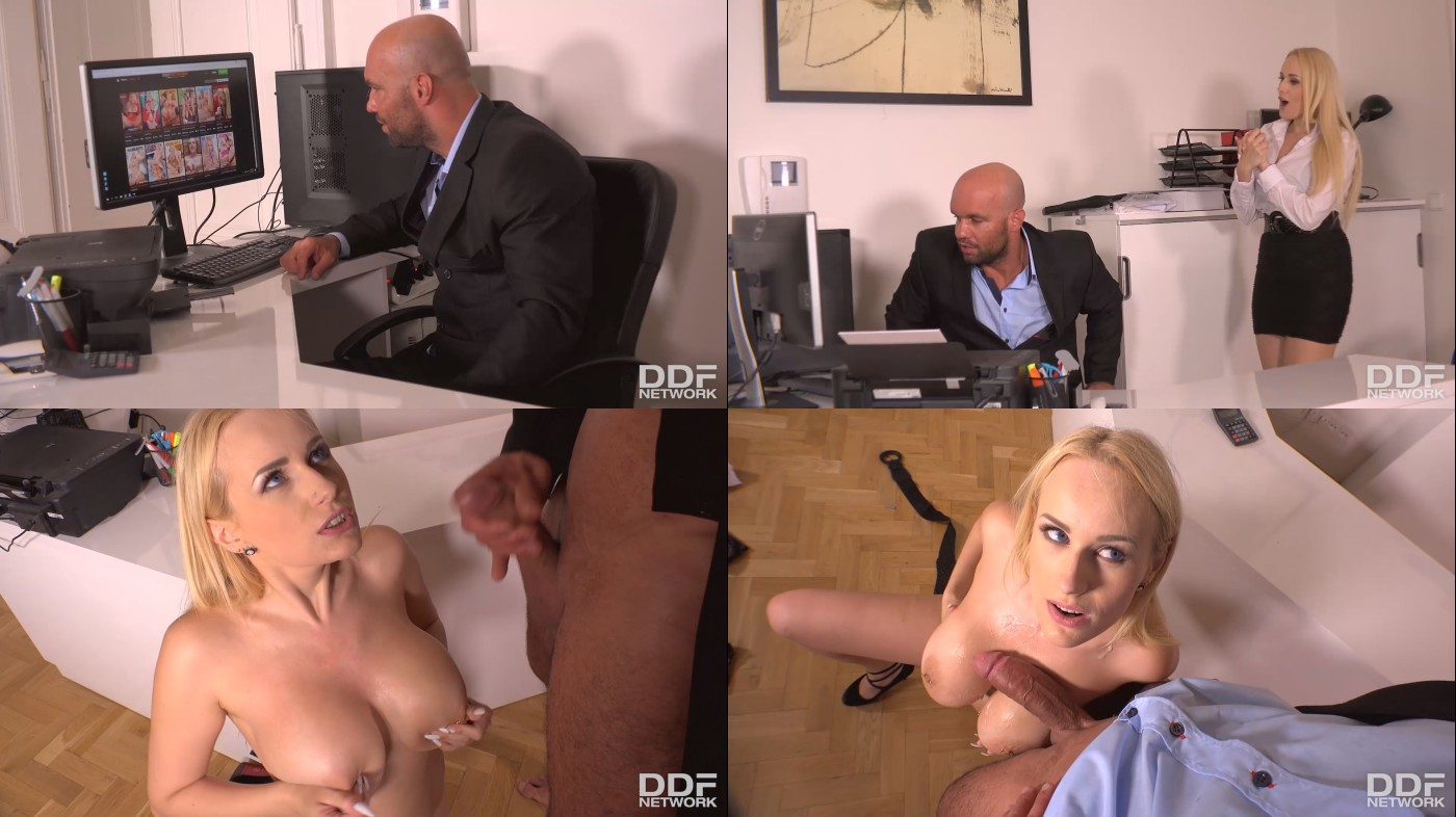 Jul 14, 2017 - Angel Wicky - Cum-Covered Cans - Boss Crams Cock into Buxom Babe's Mouth.jpg